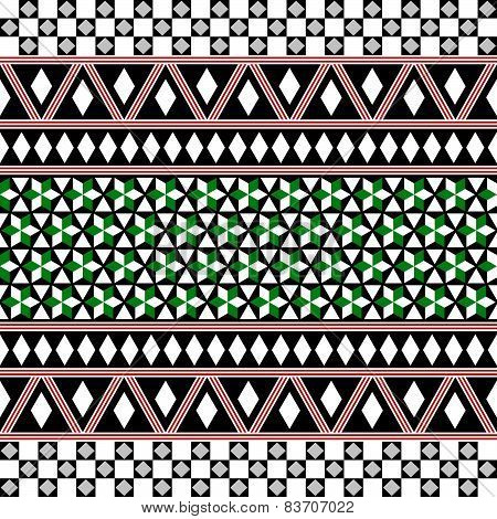 Tribal Seamless Pattern. Ethnic Vector Background.