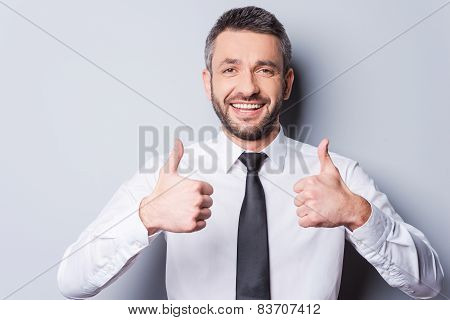 Thumbs Up For Success!