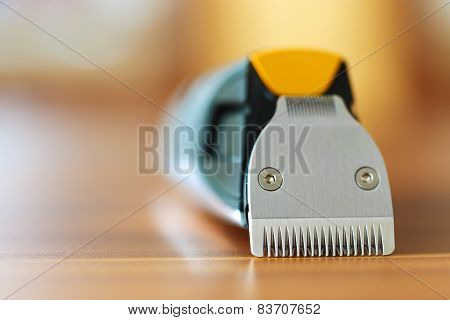Close-up Of Beard Trimmer