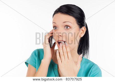 Surprised woman!