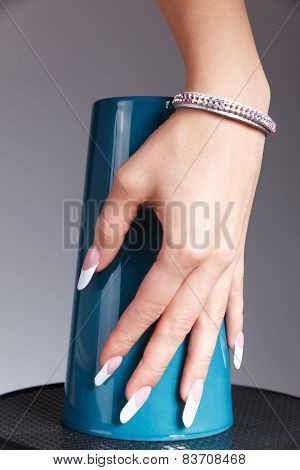 Special French Manicured Nails