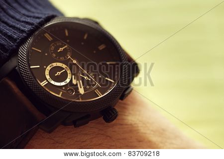 Elegant Casual Watch On Hand
