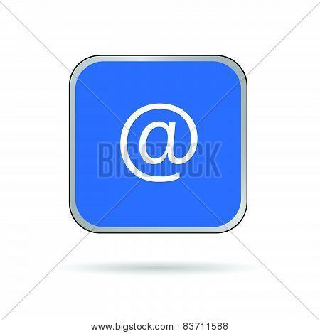 Internet Adress Icon Vector