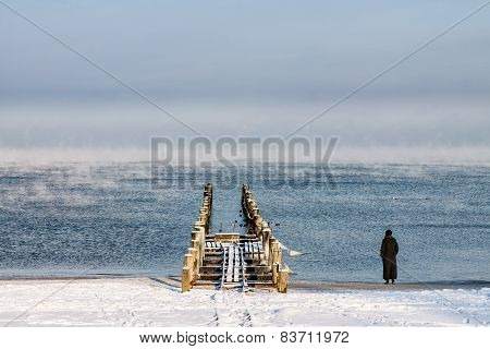 Winter On The Beach