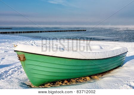 Fishing Boat  In Zingst