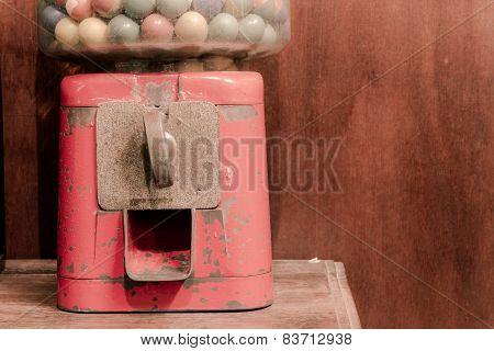 Ancient Gumball Machine