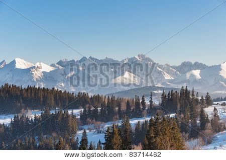 Winter Landscape Of Tatra Mountains