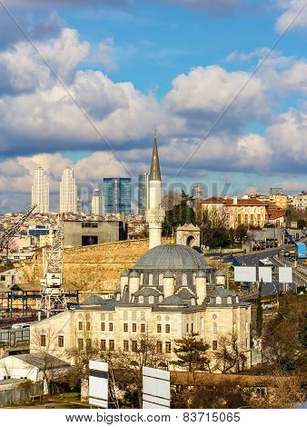 View Of The Sokullu Mosque In Istanbul - Turkey