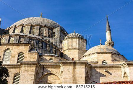 Suleymaniye Mosque On The Third Hill Of Istanbul, Turkey