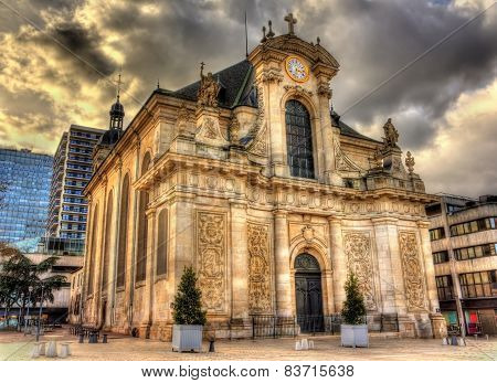 View Of St. Sebastien Church In Nancy - Lorraine, France