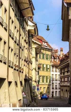 Buildings In The City Center Of Bern - Switzerland