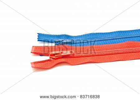 Two Different Colors Zipper