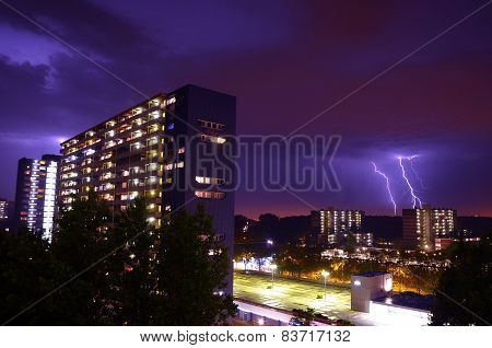 Lightning in Delft