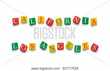 Words California Los Angeles