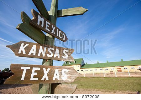 Wild West Signs