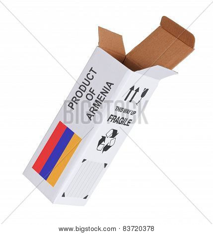 Concept Of Export - Product Of Armenia