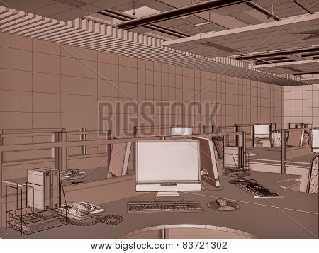 Interior Office Rooms