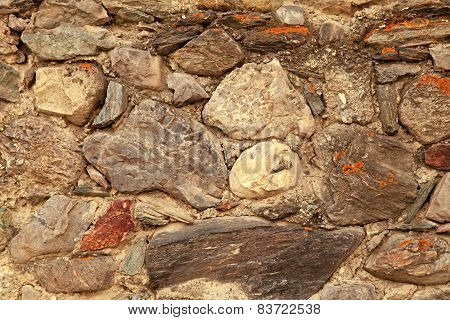 Antique Stone Wall