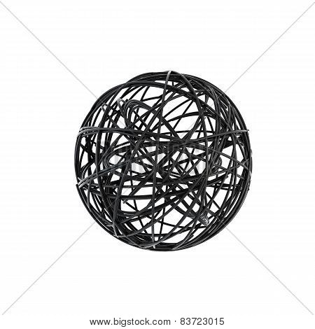 Abstract Wire Sphere