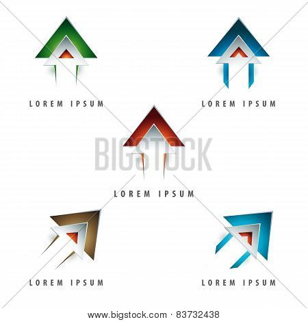 Arrow Shaped Logo