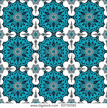 Pattern in turkish style