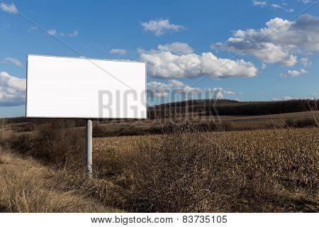 Nature Landscape And Alone Billboard