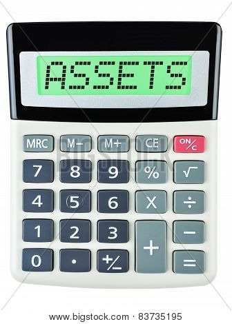 Calculator With Assets