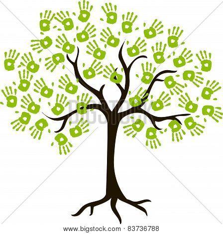 The Tree Of Handprints