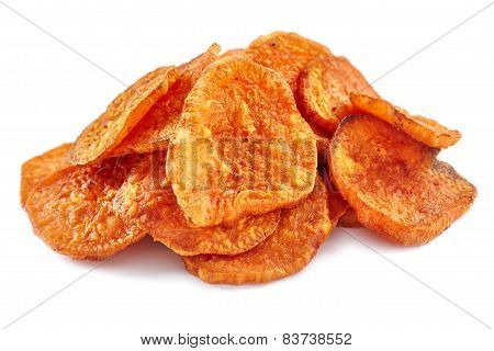 Homemade Sweet Potatoes Chips