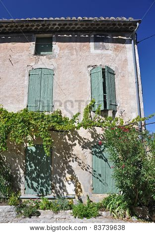 Old House In Vaison-la-romaine, In Provence, France