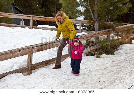 Maya's First Snow