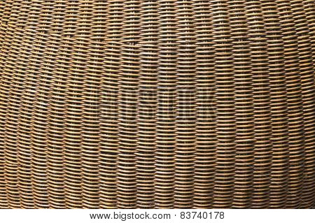 Rattan Pattern Background.
