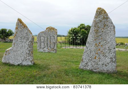 Neolithic Stones In Seby
