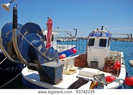 Spanish fishing boat, Garrucha.