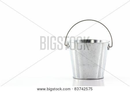 Metal Zinc Bucket.