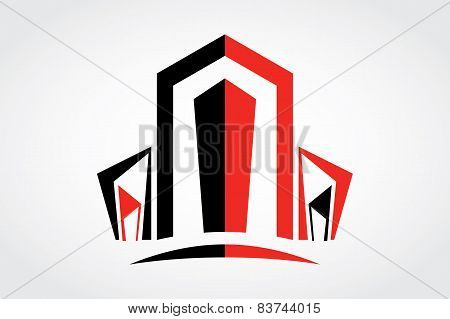Vector Art Real Estate Logo