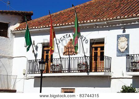 Town hall, La Calahorra.