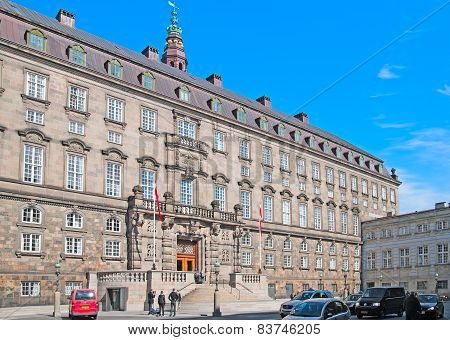 Denmark. Copenhagen. The Danish Parliament