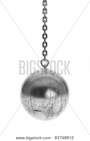 Closeup Wrecking Ball