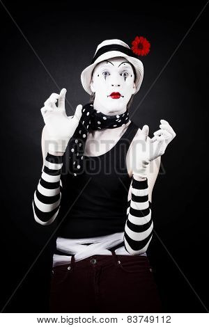 Cheerful Mime