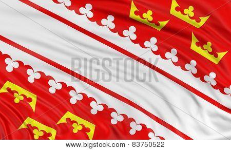 3D Alsace Flag