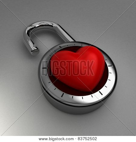 Unlocking your heart to love