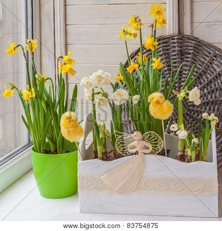 Easter Decoration Balcony
