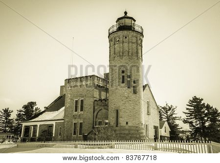 Vintage Lighthouse