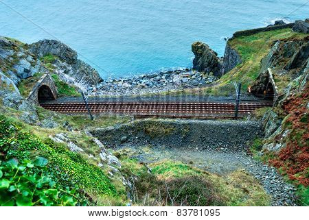 Scenic Railroad In Ireland