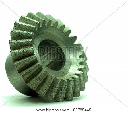 Large Cog Wheels In The Motor