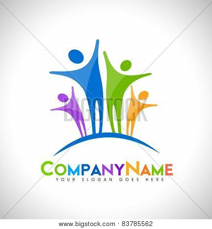 People Logo Design