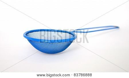 Colored tea strainer