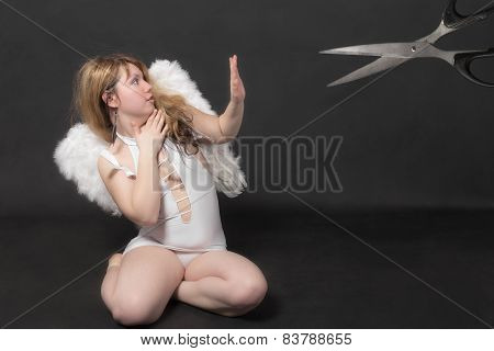 Do Not Cut Off The Wings Of An Angel