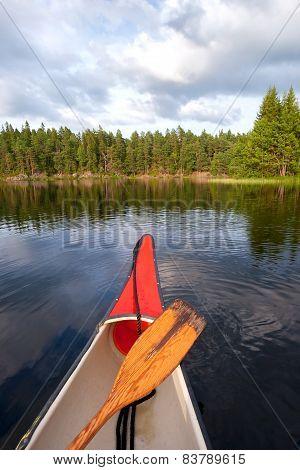 Canoeing Sweden